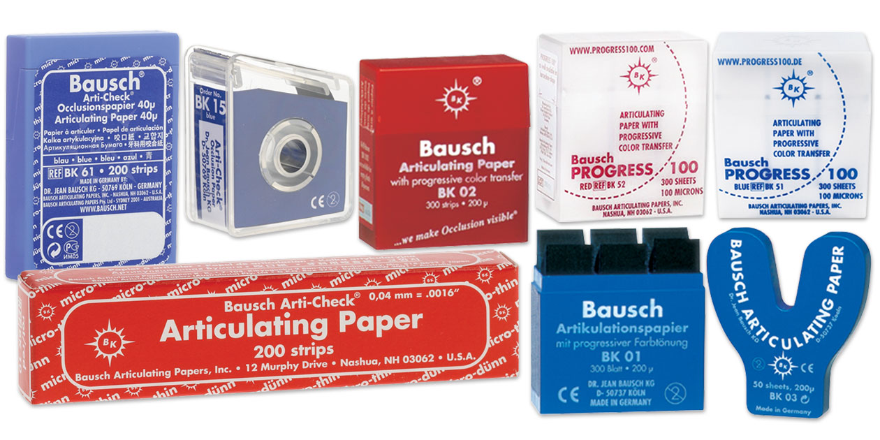 Image for Bausch articulating paper