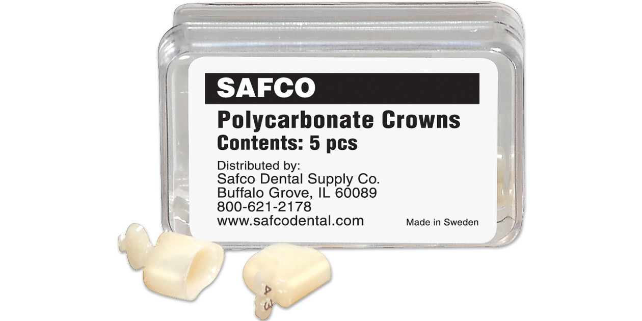 Image for Safco polycarbonate crowns
