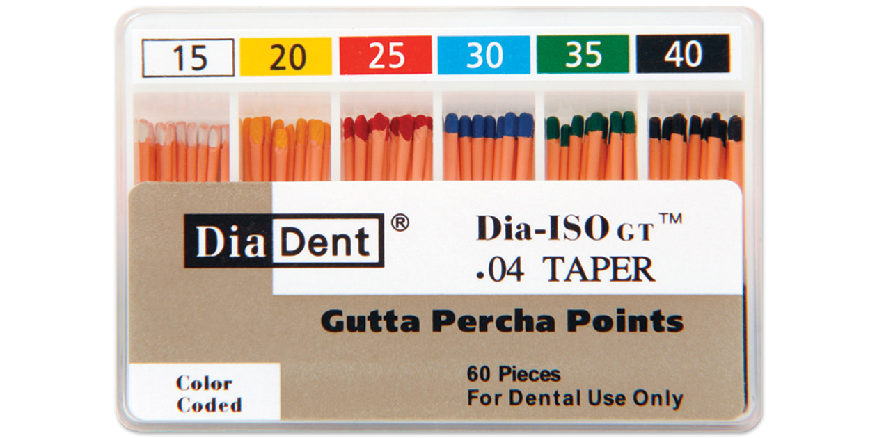 Image for DiaDent<sup>®</sup> gutta percha points DIA-ISO GT™
