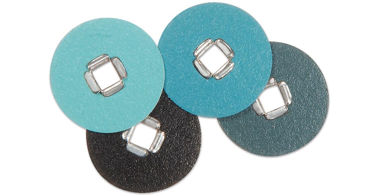 Image for 3M™ Sof-Lex™ square eyelet finishing and polishing discs