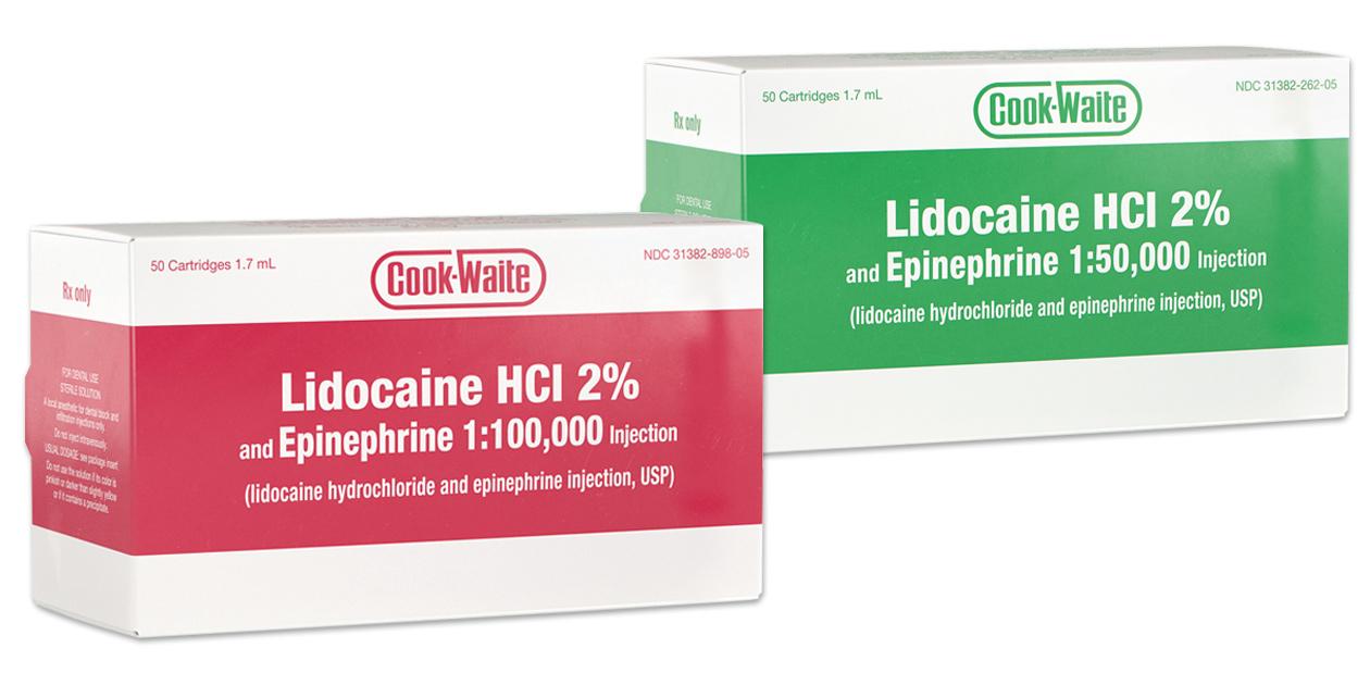 Image for Cook-Waite Lidocaine