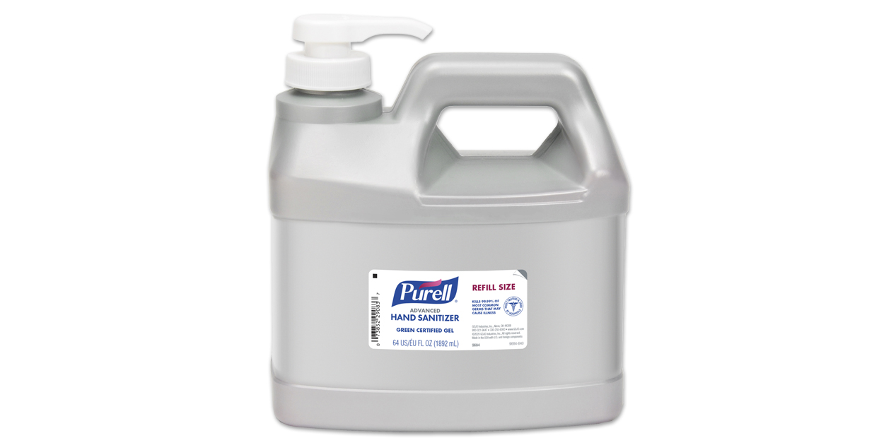 Image for Purell<sup>®</sup> 64 oz. refill jug with pump