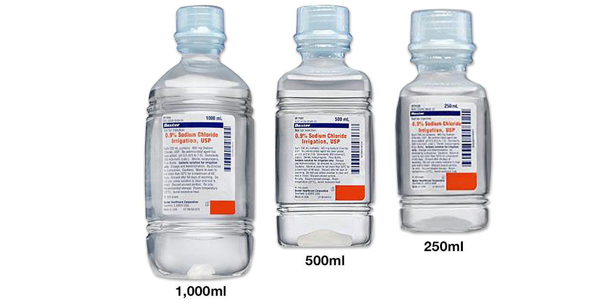 Image for Sodium chloride 0.9% irrigation - Baxter
